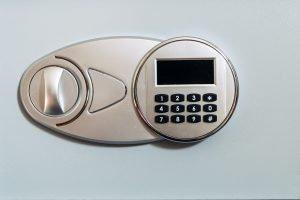 Cerrajeros Arucas Panel seguridad digital que representa la seguridad y alarma del edificio